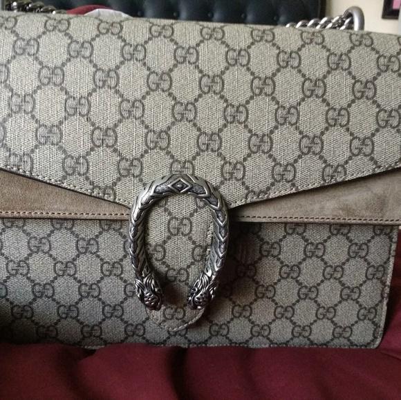 829b99a58f09 Gucci Bags | Dionysus Large | Poshmark